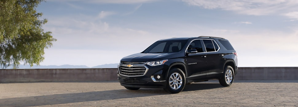 New Chevy Traverse SUV