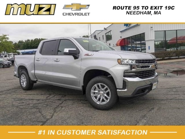 New 2019 Chevrolet Silverado 1500 LT 4x4 LT  Crew Cab 5.8 ft. SB in Needham Heights