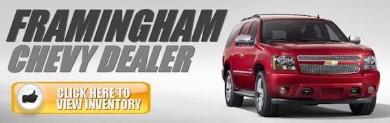 Framingham Chevy Dealership New And Used Chevy Framingham Massachusetts