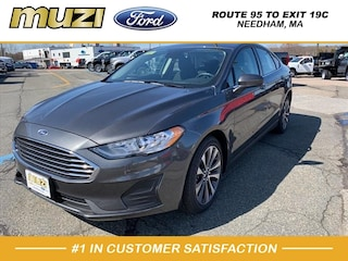 New 2020 Ford Fusion SE Sedan for sale near Boston MA at Muzi Ford