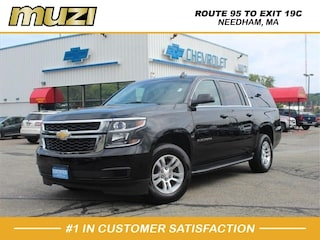 Certified 2016 Chevrolet Suburban LT 1500 for sale near Boston MA at Muzi Ford