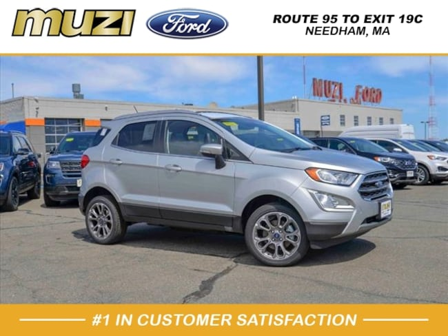 New 2019 Ford EcoSport Titanium AWD Titanium  Crossover for sale near Boston, MA at Muzi Ford