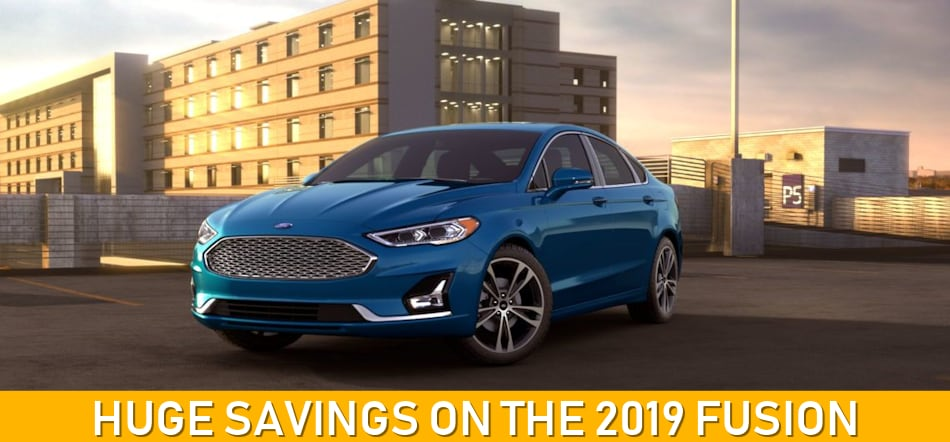 Cheapest Car To Lease With No Money Down >> New 2019 Ford Fusion Lease Deals 0 Zero Down At Muzi Ford Near