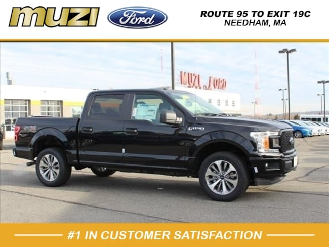 New 2018 Ford F-150 XL 4x4 XL  SuperCrew 5.5 ft. SB for sale near Boston, MA at Muzi Ford