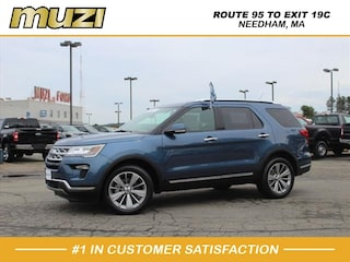 New 2018 Ford Explorer Limited for sale in Needham MA