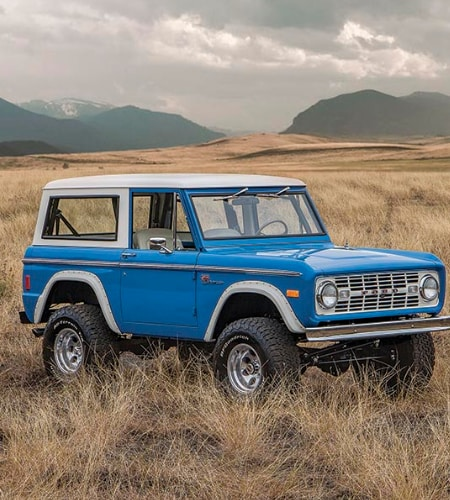 new ford bronco old body style