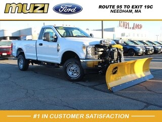 2019 Ford F-250 XL With Plow XL 4x4 XL  Regular Cab 8 ft. LB Pickup