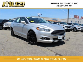 Used 2016 Ford Fusion SE for sale near Boston at Muzi Ford