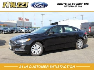 New 2019 Ford Fusion S Sedan for sale near Boston MA at Muzi Ford