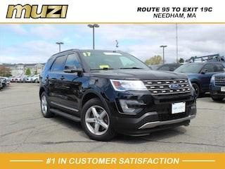 Certified 2017 Ford Explorer XLT for sale near Boston MA at Muzi Ford