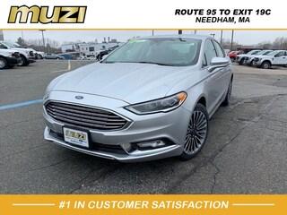 Used 2017 Ford Fusion SE for sale near Boston at Muzi Ford