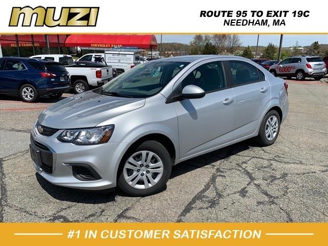 Used 2018 Chevrolet Sonic LS Auto for sale near Boston at Muzi Ford
