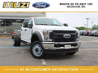 New 2019 Ford F-550 Chassis XL Truck Crew Cab for sale near Boston MA at Muzi Ford
