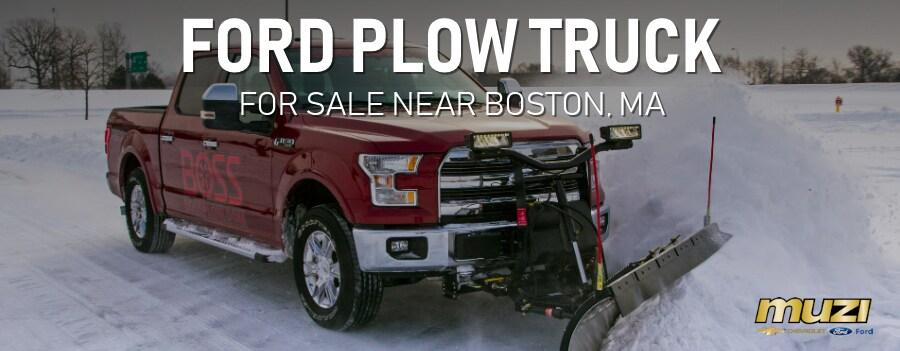 New Ford Plow Truck Near Boston Ma At Muzi Serving Newton
