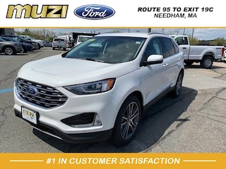 New 2020 Ford Edge Titanium SUV for sale near Boston MA at Muzi Ford