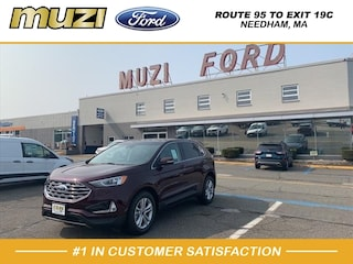 New 2020 Ford Edge SEL SUV for sale near Boston MA at Muzi Ford