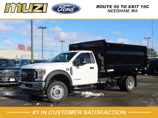 New 2019 Ford F-550 Chassis Dump Truck for sale near Boston MA at Muzi Ford