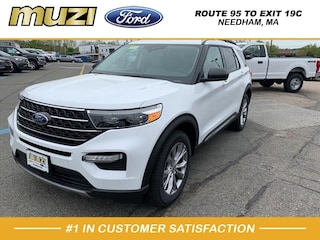 New 2020 Ford Explorer XLT SUV for sale near Boston MA at Muzi Ford