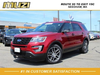 2016 Ford Explorer Sport For Sale >> Certified Used 2016 Ford Explorer Sport For Sale Near Boston Needham Heights Ma 1fm5k8gt5ggb68888