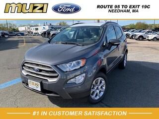 New 2020 Ford EcoSport SE SUV for sale near Boston MA at Muzi Ford