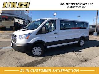 Certified 2019 Ford Transit Passenger for sale near Boston MA at Muzi Ford