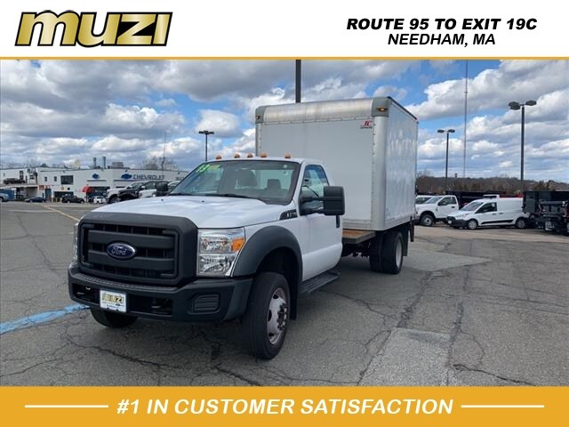 Used 2013 Ford F-550 Chassis Box Truck XL for sale near Boston at Muzi Ford