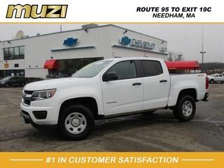 Certified 2018 Chevrolet Colorado Work Truck for sale near Boston MA at Muzi Ford