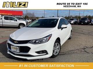 Used 2018 Chevrolet Cruze LS Auto for sale near Boston at Muzi Ford