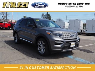 New 2021 Ford Explorer Limited SUV for sale in Needham MA