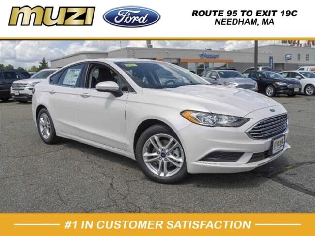 New 2018 Ford Fusion SE SE  Sedan for sale near Boston, MA at Muzi Ford