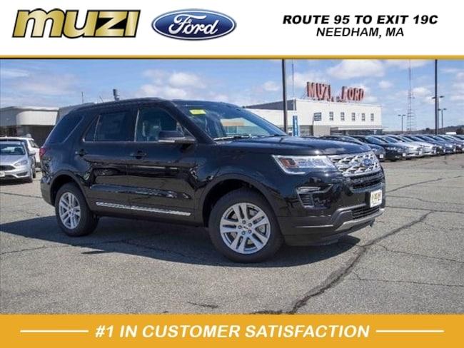 New 2018 Ford Explorer XLT AWD XLT  SUV for sale near Boston, MA at Muzi Ford