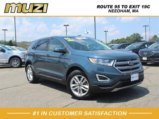 Certified 2016 Ford Edge SEL for sale near Boston MA at Muzi Ford