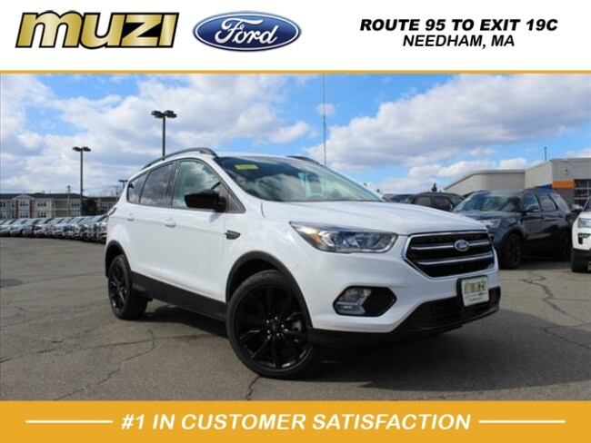 New 2018 Ford Escape SEL AWD SEL  SUV for sale near Boston, MA at Muzi Ford