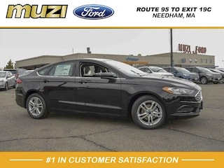 New 2018 Ford Fusion SE SE  Sedan for Sale in Boston, MA at Muzi Ford