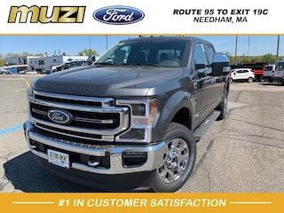 New 2020 Ford F-350 Lariat Truck Crew Cab for Sale in Boston, MA at Muzi Ford