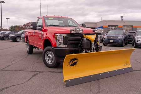 New Ford Plow Truck Near Boston Ma At Muzi Serving Newton