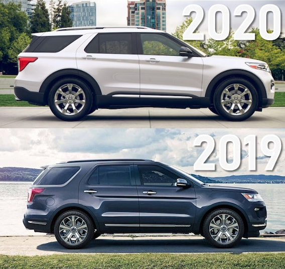 2019 Ford Explorer Vs 2020 Ford Explorer Boston Ma