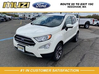 New 2020 Ford EcoSport Titanium SUV for sale near Boston MA at Muzi Ford