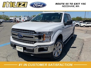 New 2018 Ford F-150 XLT Truck SuperCrew Cab for sale near Boston MA at Muzi Ford