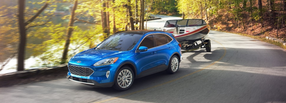 New 2020 Ford Escape SUV