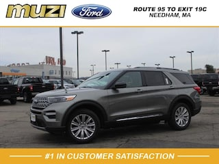 New 2020 Ford Explorer Limited SUV for sale near Boston MA at Muzi Ford