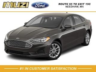 New 2020 Ford Fusion Hybrid SE Sedan for sale near Boston MA at Muzi Ford