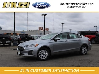 New 2020 Ford Fusion S Sedan for Sale in Boston, MA at Muzi Ford