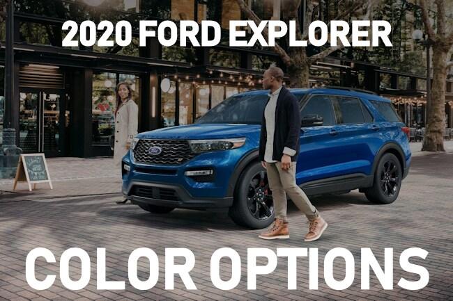 What Are The 2020 Ford Explorer Color Options Muzi Motors Inc