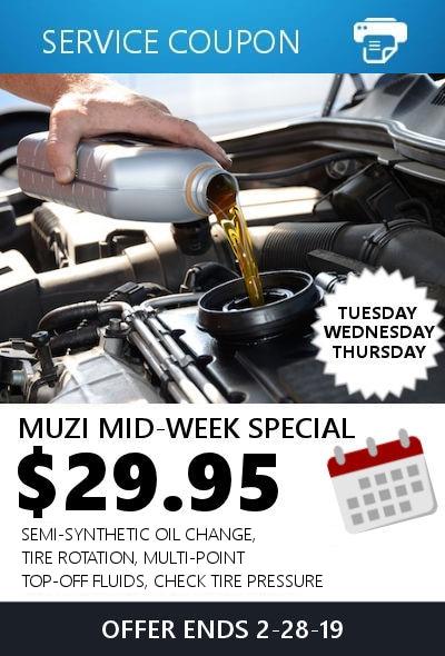 Muzi Mid-Week Special