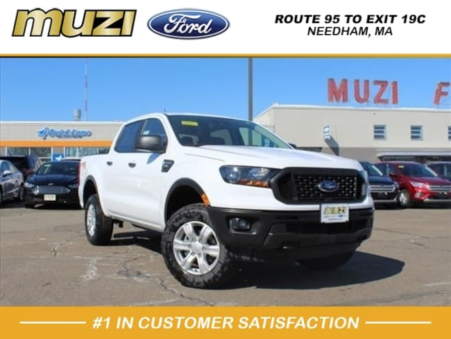 New 2019 Ford Ranger XL 4x4 XL  SuperCrew 5.1 ft. SB Pickup for sale near Boston, MA at Muzi Ford