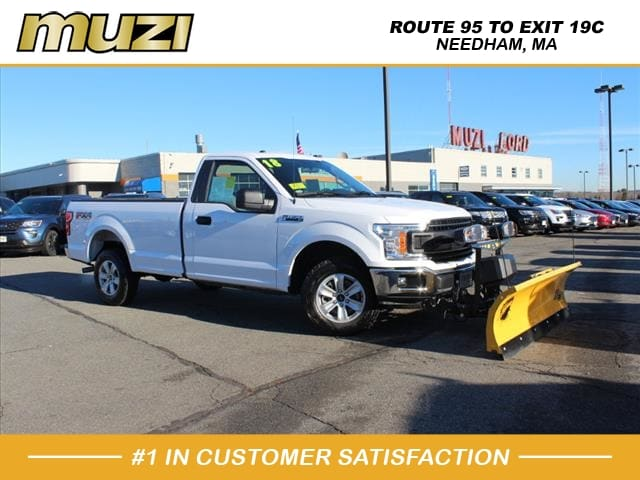 2018 Ford F-150 XL With Plow XL