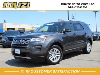 Certified 2018 Ford Explorer XLT for sale near Boston MA at Muzi Ford