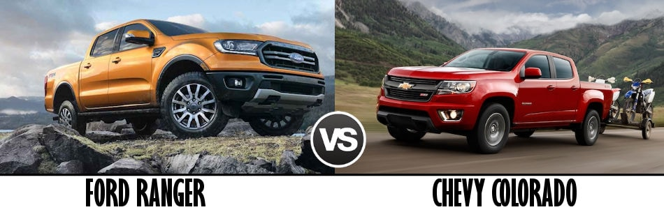 2019 Ford Ranger Vs 2019 Chevy Colorado Boston Ma