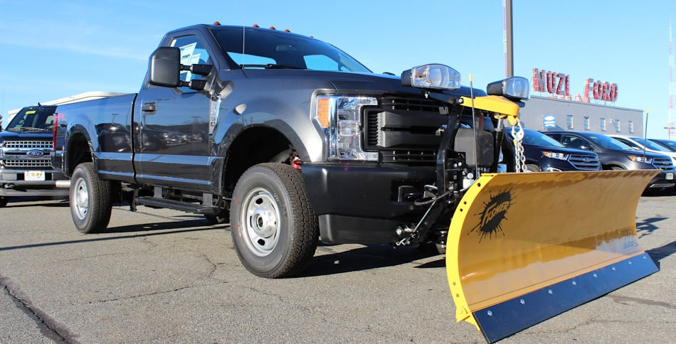 New Ford Plow Trucks For Sale At Muzi Ford Serving Boston Newton